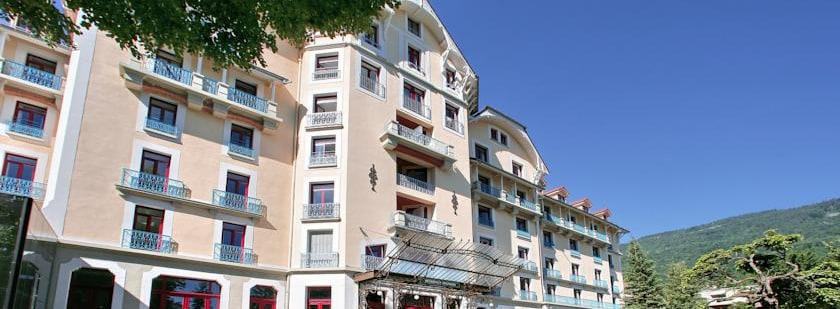 Appart hotel le splendid location vacances cure for Apparthotel chambery